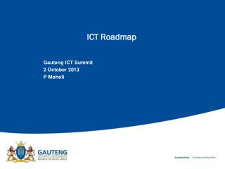 ICT Roadmap