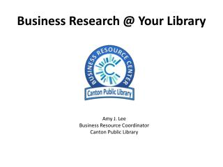 Business Research @ Your Library