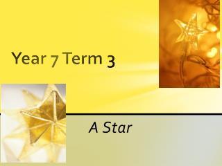 Year 7 Term 3