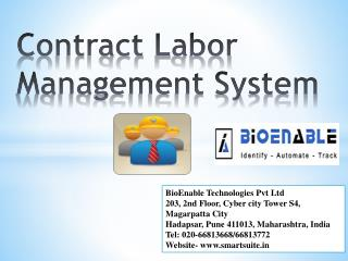 Contract  L abor Management System
