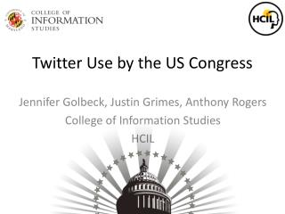 Twitter Use by the US Congress
