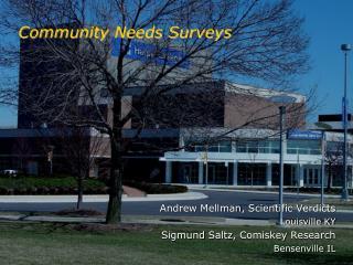 Community Needs Surveys