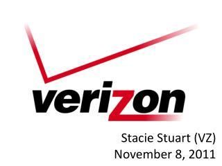 Stacie  Stuart (VZ) November 8, 2011