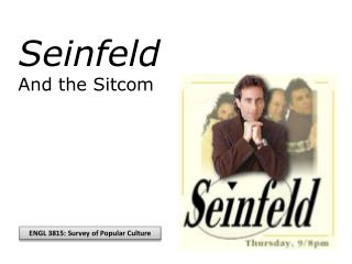 Seinfeld And the Sitcom