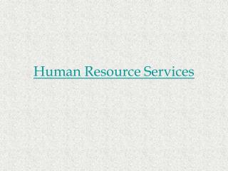 HR Services in Hyderabad - Accuprosys