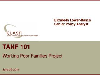TANF 101