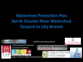 Watershed  Protection Plan  North Oconee River Watershed Tanyard  to Lilly Branch