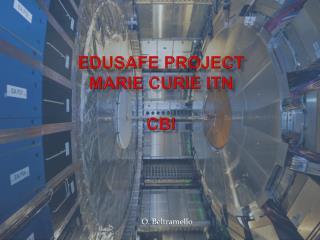 EDUSAFE Project  Marie Curie ITN CBI