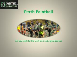 Perth Paintball