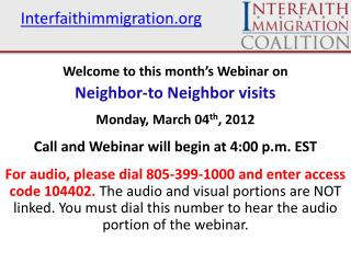 Interfaithimmigration.org