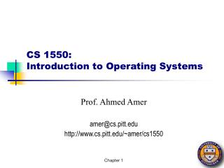 cs 1550: introduction to operating systems