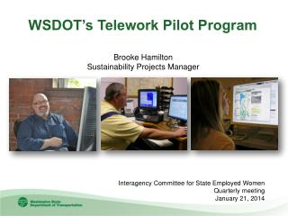 WSDOT's Telework Pilot Program