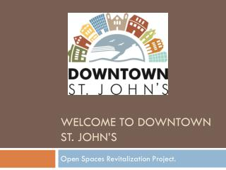 Welcome to Downtown St. John�s