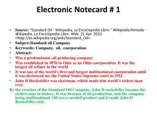Electronic  Notecard  # 1