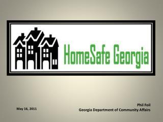 Phil Foil Georgia Department of Community Affairs
