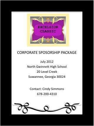 July 2012 North  Gwinnett High School 20 Level Creek  Suwannee, Georgia 30024