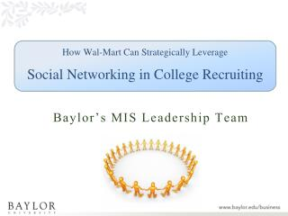 How Wal-Mart Can Strategically Leverage Social Networking in College Recruiting