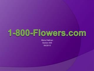 Moira Hallinan Section 005 09/29/10