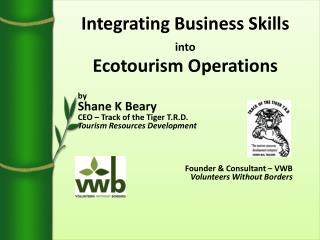 Integrating Business Skills into Ecotourism Operations