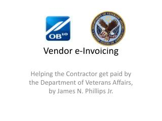 Vendor e-Invoicing