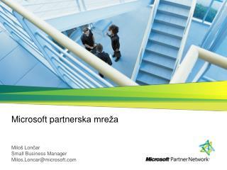 Microsoft  p artner ska mreža