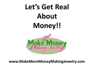 Let's Get Real About Money!!