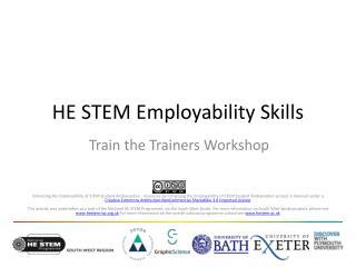 HE STEM Employability Skills
