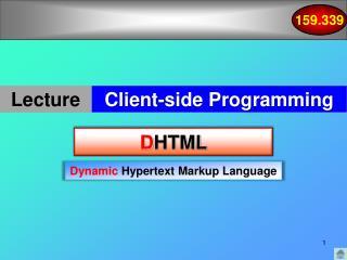 D HTML