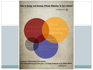 How to Design and Develop Affiliate Websites to Earn Online?