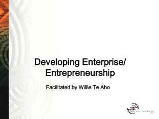 Developing Enterprise/ Entrepreneurship