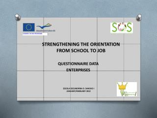 STRENGTHENING  THE  ORIENTATION  FROM  SCHOOL  TO  JOB