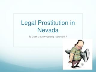 Legal Prostitution in Nevada