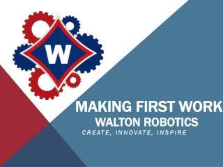WALTON ROBOTICS