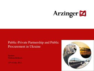 Public-Private Partnership and Public Procurement in Ukraine