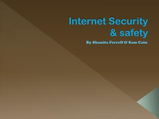 Internet  Security & safety