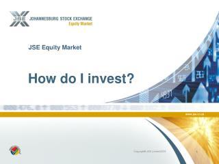 JSE Equity Market