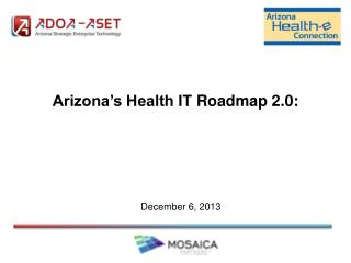 Arizona's Health IT  Roadmap 2.0: