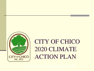 CITY OF CHICO 2020 CLIMATE ACTION PLAN