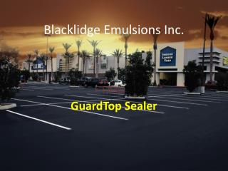 Blacklidge Emulsions Inc.