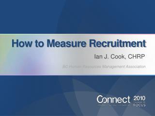 How to Measure Recruitment