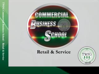Retail & Service