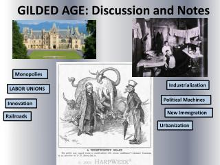 GILDED AGE: Discussion and Notes