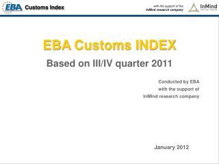 EBA  Customs INDEX