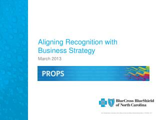 Aligning Recognition with Business Strategy