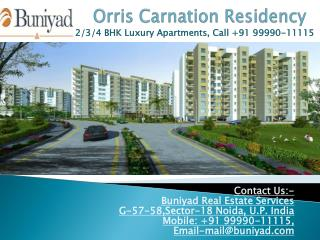 Orris Carnation Residency – Preeminence Apartments in Gurgao