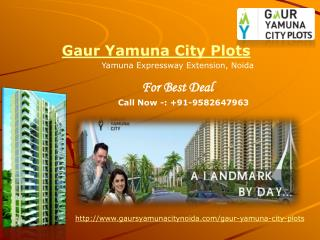 Gaur Yamuna City Plots | Gaur Yamuna City Plots Noida