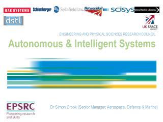 Autonomous & Intelligent Systems