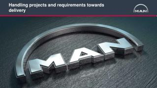 Handling  projects  and  requirements towards delivery