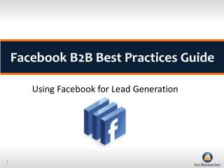 Facebook B2B Best Practices Guide