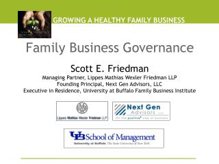 GROWING A HEALTHY FAMILY BUSINESS